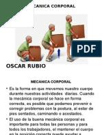 Mecanica Corporal Oscar Rubio