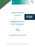 Unidad 1. Biotransformaciones