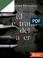 El Extrano Del Ayer - Cristina Higueras