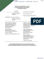 NetJumper Sofware L. L. C. v. Google, Incorporated - Document No. 40