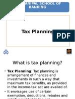 5. Tax Planning