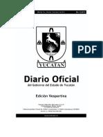 Diario Oficial Yucatan 12 junio 2015