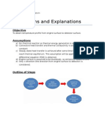 Derivations and Explanations