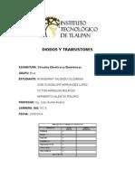 Transistores y Diodos