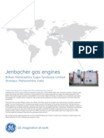 Jenbacher gas engine spesification