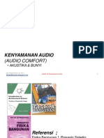 Kuliah 13 Kenyamanan Audio