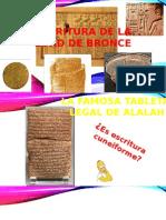 Escritura de La Edad de Bronce1