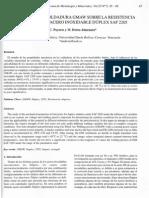 Influencia de La Soldadura Gmaw Sobre La Resistencia Al Impacto Del Acero Inoxidable Dúplex Saf 2205