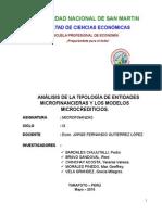 Tipologia de Entidades Microfinancieras