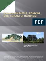 Bangunan Mesir, Mesopotamia, Romawi, Dan Yunani Di Indonesia