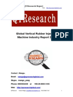 Global Vertical Rubber Injection Machine Industry Report 2015