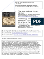 The International History Review Volume 22 Issue 4 2000 [Doi 10.1080%2F07075332.2000.9640917] Greenhalgh, Elizabeth -- Technology Development in Coalition- The Case of the First World War Tank