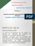 2. Consolidacion Unidimensional de Los Suelos