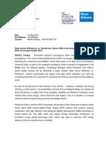 Eaton DCD Dubai 2013 Preview Press Release