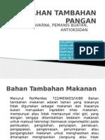 BAHAN TAMBAHAN PANGAN
