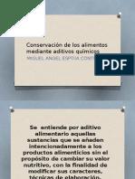 Conservación de los alimentos mediante aditivos químicos.pptx