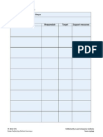 Action Planing Template