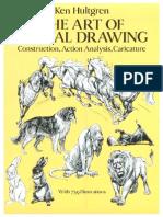 the art of animal drawing - ken hultgren.pdf