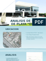 Analisis de La Casa de Playa