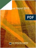 Hrtex 2012-2013 Annual