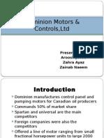 Dominion Motors & Controls,Ltd