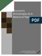 Documento Metodologico Balanza de Pagos BCR-SV