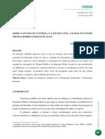 ARTIGO REVISTA FIDES Hobbes e Kant - Andreza Barreto Leitão