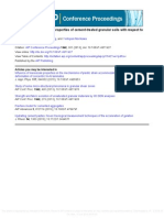 Physical and Mechanical Properties of Cement Treated Granular Soils
