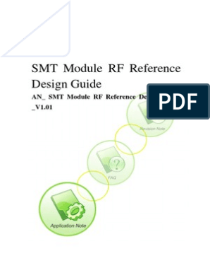 Surface Mount Module Rf Reference Design Guide Printed Circuit Board Antenna Radio