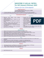 PLD Newsletter Vol.8 (I). Jan-Feb2015