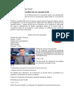 Análisis Noticieros Nacionales Ecuador