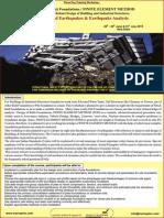 Earthquake Analysis Pile Raft Foundations