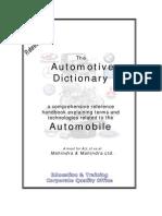 The Automotive Dictionary