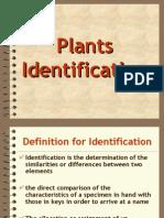 Bahan Kuliah v (Plant Indentification)