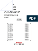 Canon JX 500_200 - Service Manual