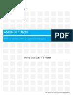 Informe Anual Auditado Funds Bond Global Aggregate