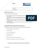 NBS8013 Assessment Brief 2014-15