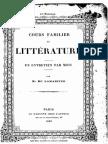 M.de Lamartine - Cours Familier de Littérature - Entretien 44