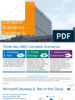 AWS Compete Scenarios - Develop and Test