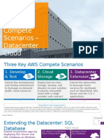 AWS Compete Scenarios – Datacenter Cloud Extension