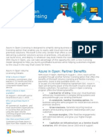 Azure in Open to-Partner Datasheet