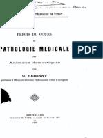 G.hebrant - Pathologie Medicale Des Animaux Domestiques