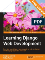Learning Django Web Development - Sample Chapter