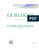 Guide Pratique - Budget- 10- 2009