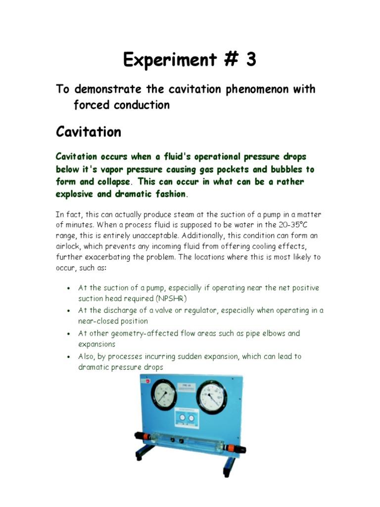 Cavitation | Propeller | Chemical Engineering