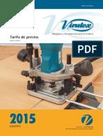 Virutex Tarifa Pvp Marzo 2015