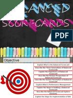 Balanced Scorecards Demo