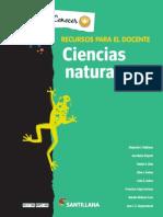 CIENCIAS NATURALES 1 GUIA DOCENTE SANTILLANA