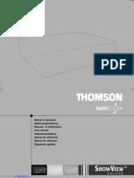 Thomson VTH 7090 VCR Manual