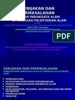 Kebijakan dan Permasalahan Pengusahaan Pariwisata Alam di KPA Manado Des 2006.ppt